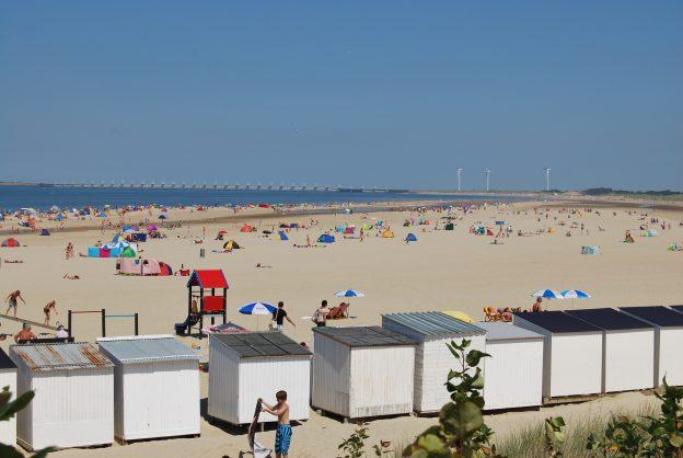Het strand bij ons vakantiehuisje